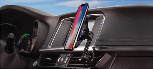 Scosche Phone Mount in Car