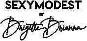 Sexy Modest by Brigitte Brianna logo.